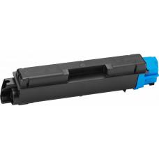 Картридж TK-580C для KYOCERA Ecosys P6021CDN голубой, с чипом и бункером