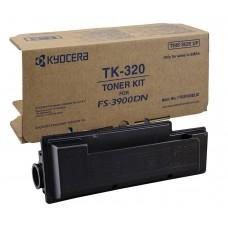 Картридж TK-320 для Kyocera Fs-4000, Fs-4000DN, Fs-3900DN (тонер Mitsubishi) +бункер