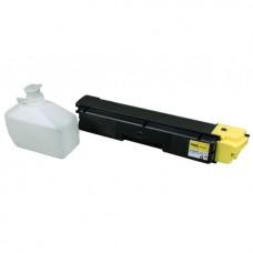 Картридж TK-590Y для Kyocera FS-C5250dn, FS-C2026, FS-C2126 с чипом, желтый