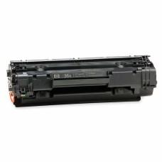 Заправка картриджа HP CB436A с чипом.  Ресурс 2000 (при 5% заполнении)
